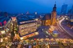 photo of Night Lights Of Downtown Frankfurt Germany