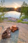 photo of Killarney Provincial Park George Lake Sunset