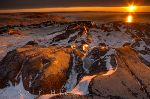 photo of Hudson Bay Sunset Manitoba Canada