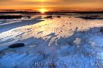 photo of Lake Sunset Churchill Manitoba Canada