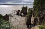 photo of Coastal Geology At The Hopewell Rocks Bay Of Fundy New Brunswick