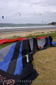 photo of Kitesurfing Orewa New Zealand