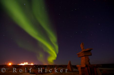 photo of Aurora Borealis Manitoba Canada