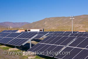 photo of Heliostats Solar Energy Tabernas Andalusia Spain