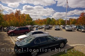 photo of Crowds At The Information Centre Algonquin Provincial Park