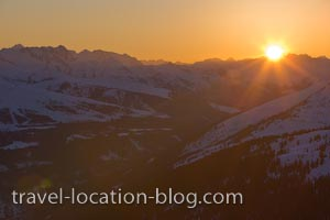 photo of Mountain Sunset Hohe Tauern National Park