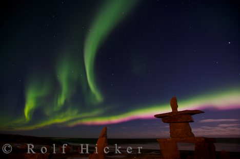 photo of Northern Lights Over Churchill Manitoba