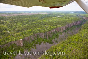 photo of Steeped Sided Ouimet Canyon Ontario
