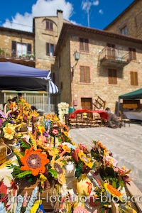 photo of Pienza Tuscany Craft Market Italy