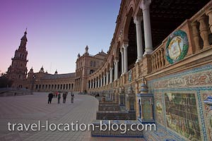 photo of Plaza De Espana Seville Andalusia Spain