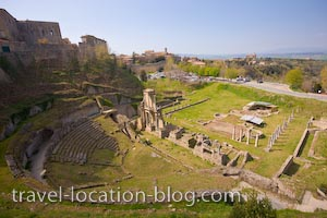 photo of Roman Theatre Volterra