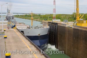 photo of Lock 3 Welland Canals St Catharines Ontario