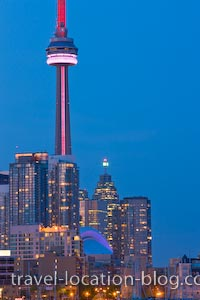 photo of Toronto Night Lights Ontario Canada