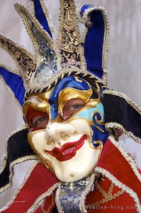 photo of Venetian Masks In Venice Italy
