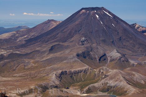 photo of Mt Ngauruhoe Central North Island