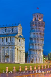 photo of Famous Leaning Tower Of Pisa Tuscany Italy