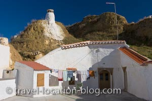 photo of Caves In The Village Of Guadix Andalusia Spain