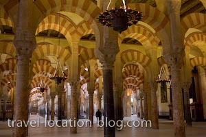 photo of Moorish Architecture At The Historic Mezquita Cordoba