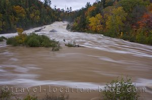 photo of Flooded Chippewa Falls Ontario Canada