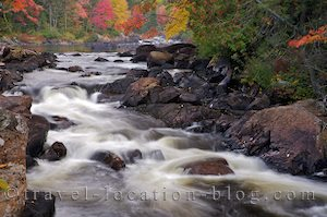 photo of Fall Colours Of Parc National Du Mont Tremblant Quebec Canada