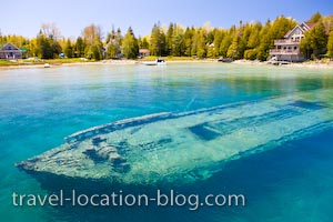 photo of Shipwrecks And Flowerpots Of The Fathom Five National Marine Park