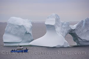 photo of Iceberg Alley Newfoundland