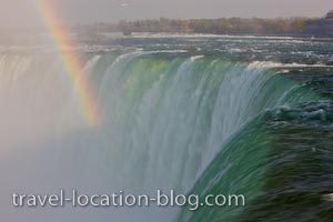 photo of Niagara Falls Rainbow Ontario Canada