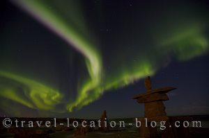 photo of Spectacular Northern Lights Over Churchill Manitoba