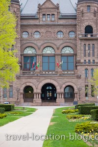 photo of Ontario Legislative Building Toronto City