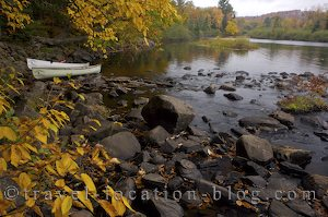 photo of Oxtongue River Ragged Falls Provincial Park