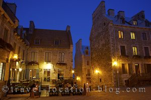 photo of Walking Through The Old Town District Of Quebec City Canada