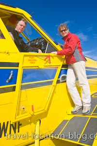 photo of Checking Out An Air Tractor Plane At The Red Lake Airport
