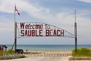 photo of The Crystal Clear Shores Of Lake Huron At Sauble Beach Ontario