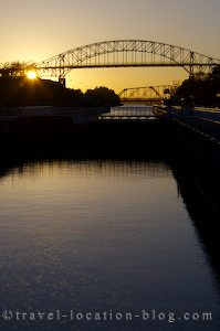 photo of Sunset In Sault Ste Marie Ontario
