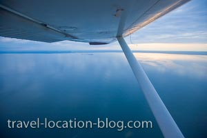 photo of Sunset From The Wing Tips Over Lake Superior