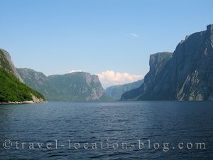 photo of Cruising Western Brook Pond In Gros Morne NP